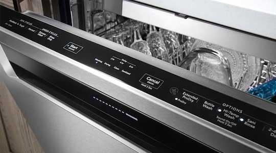 خطاهای ماشین ظرفشویی بوش