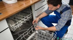 تخلیه نشدن آب ماشین ظرفشویی