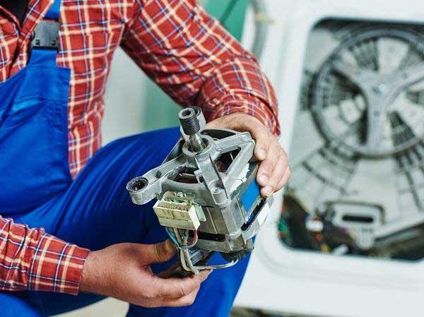 خرابی موتور ماشین لباسشویی