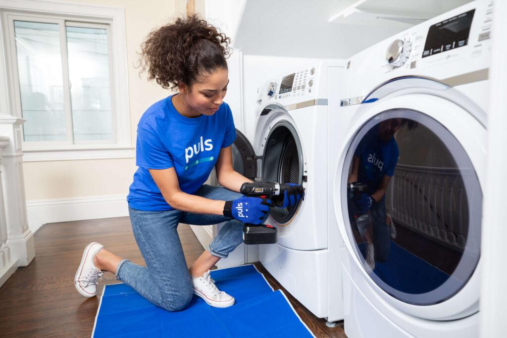 نچرخیدن دیگ ماشین لباسشویی